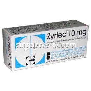 Generic Zyrtec Singapore Online